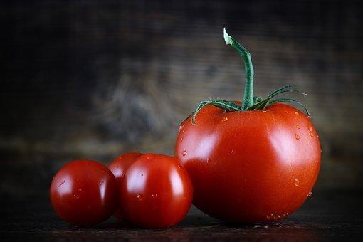 De belles tomates bien rouge